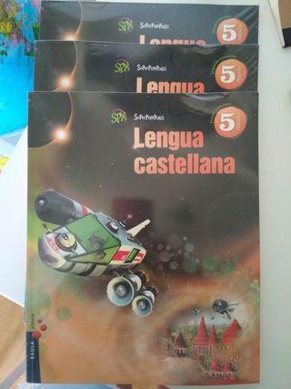 Libro Lengua Castellana 5o Primaria