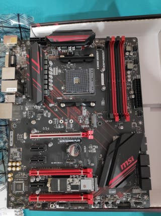 Placa base MSI X470 Gaming Plus RYZEN 3000