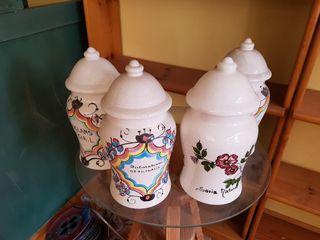 Chollo! 4 botes cerámica