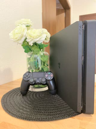 PS4 Slim + 2 juegos +1 Mando