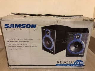 Monitores de Estudio SAMSON Resolv80a