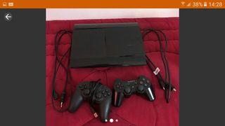 ps3: ultra slim 9 jeux et accesoire cable,manette