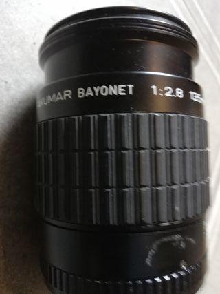 objetivo Takumar bayonet 1:2. 8 135mm