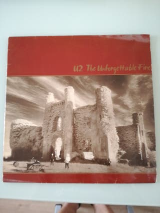 Disco vinilo U2, The unforgettable fire