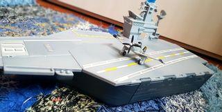 barco portaaviones película planes