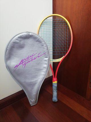 raqueta tenis Andre Gassi