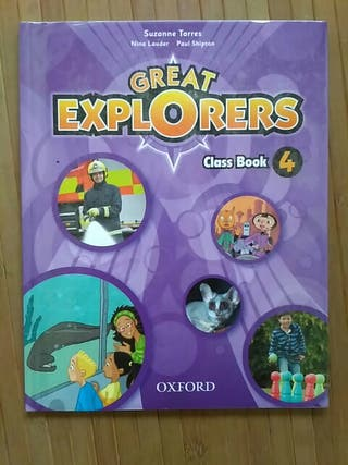 Great Explorers class book con CD 4