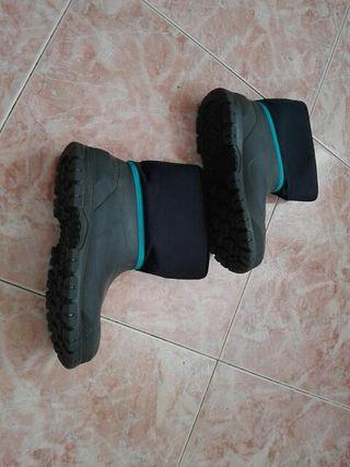 botas de nieve/agua de niño