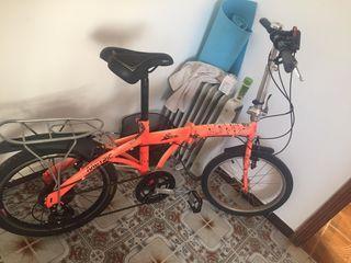 bicicleta hombre 60€ y mujer 100€