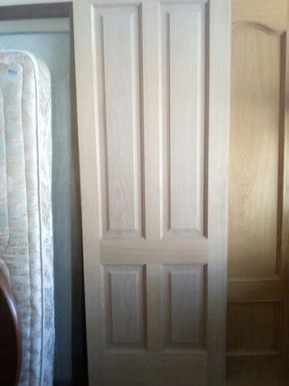 2 Puertas mazizas habitación