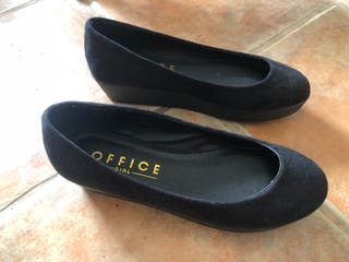 OFFICE Nuevo New Negro Zapatos Black Shoes