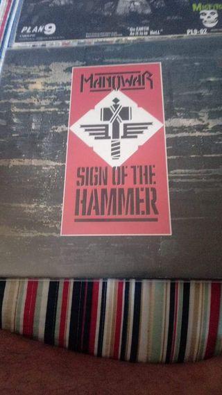 Manowar-sign of the hammer