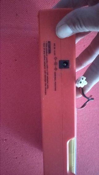 cargador baterías nihm
