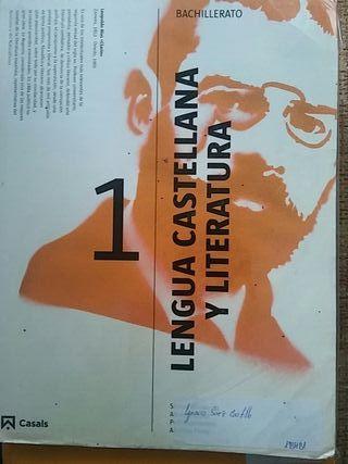 libro lengua castellana 1 bachillerato