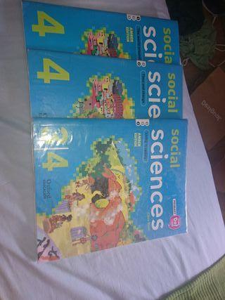 libros de social sciencie de CUARTO DE PRIMARIA