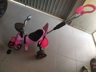 bicicleta bebe usada un vez