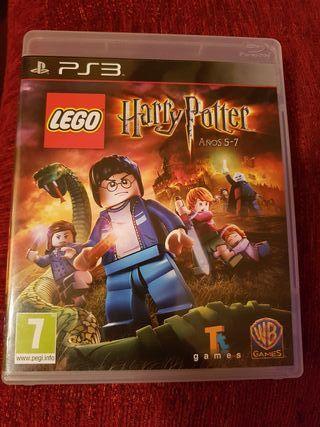 lego harry potter 5-7 años ps3