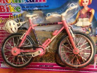 Bicicleta muñeca Barbie Blythe Bjd 1/6 ...