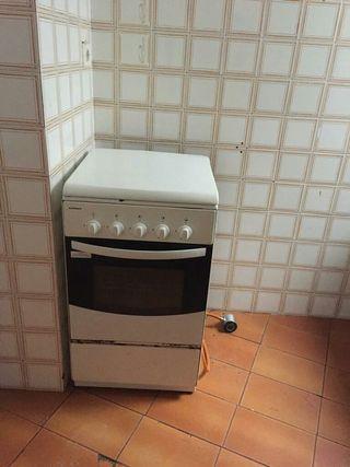 cocina y horno de butano