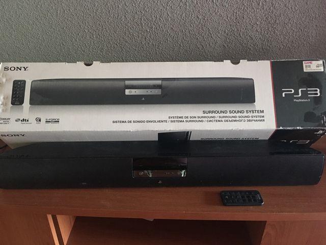 Barra de sonido PS3