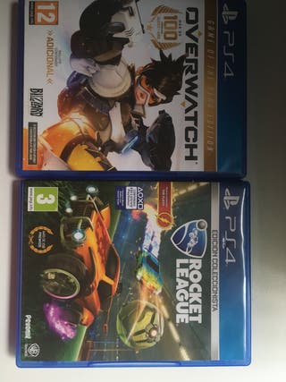 Rocket league y overwatch