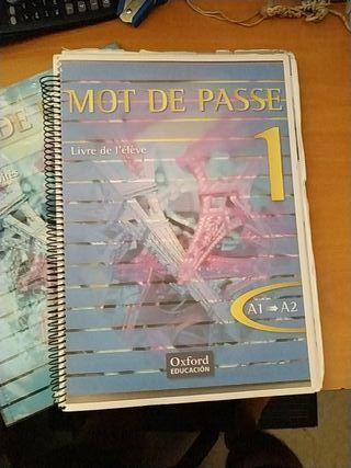 libro francés 1º bachiller A1 A2