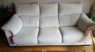 Sofá de tela de segunda mano en Ávila en WALLAPOP