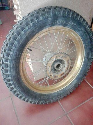 montesa cota rueda trasera