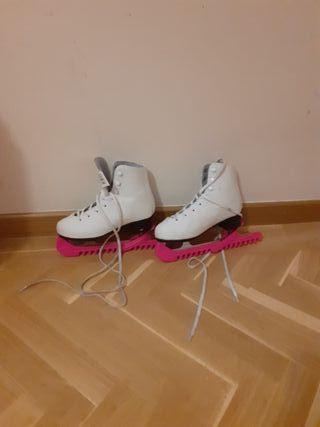 patines de hielo talla 35