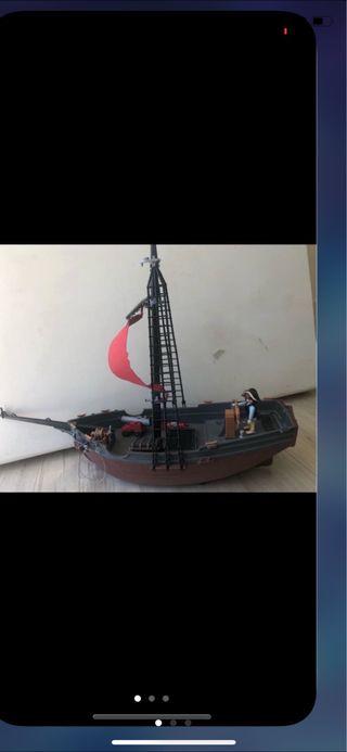 Playmobil, barco pirata