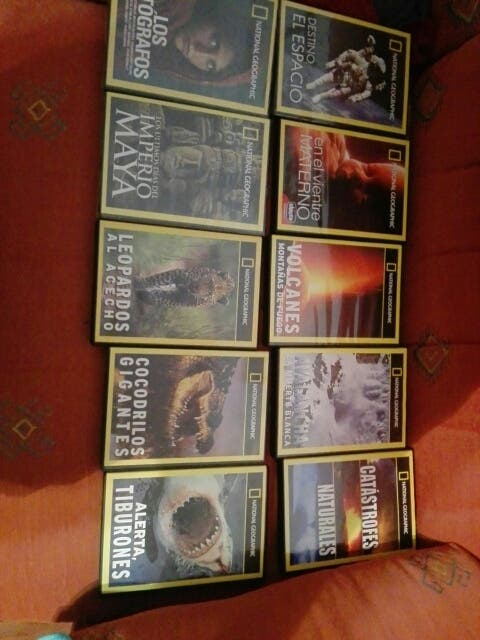 Lote peliculas cd National Geographic