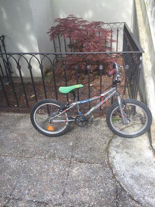Bici Monty niño 17 pulgadas