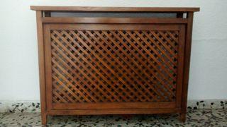 Cubre radiador madera