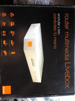 ROUTER MULTIMEDIA LIVEBOX ORANGE