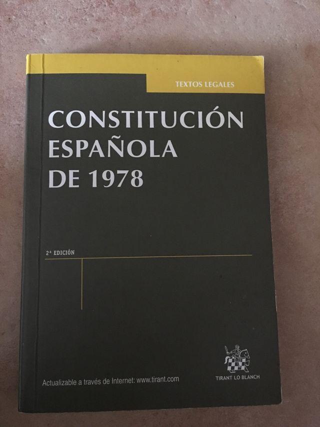 Libro Constitución Española de 1978