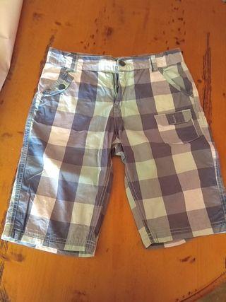 pantalón talla 12 años niño ( Bermudas)
