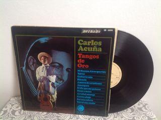 Lp Carlos Acuña. Tangos de Oro.