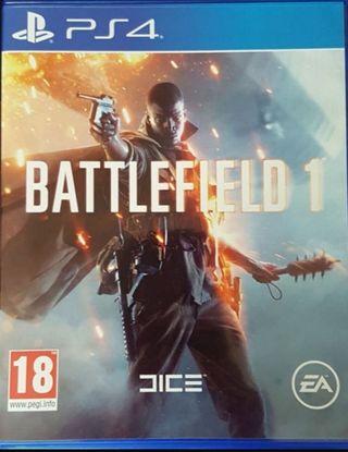 battlefield 1 ps4 perfecto estado