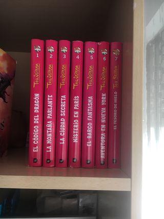 Colección 7 Libros Tea Stilton