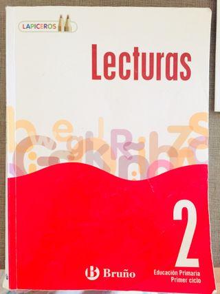 Libro escolar LECTURAS - 2 ed. Primaria