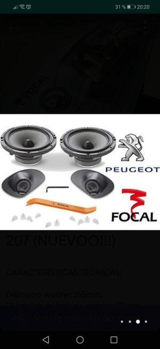 FOCAL IPF PEUGEOT 207 (NUEVO!!)