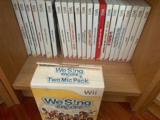 Juegos y accesorios Wii
