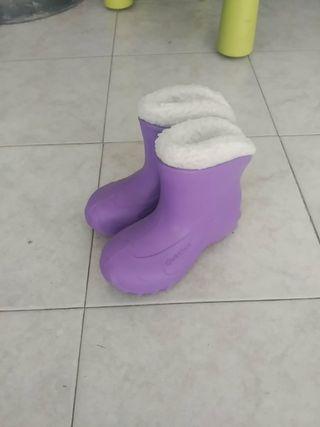 botas nieve nin@ talla 32-33