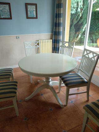 Mesa cocina con 6 sillas