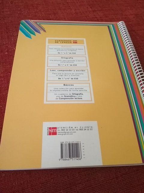 Libro de refuerzo de lengua 1° de secundaria