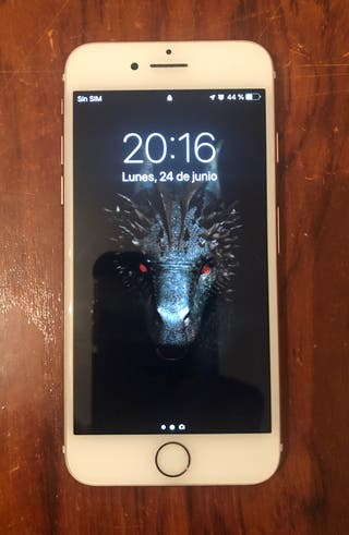 iPhone 7 64gb blanco/rosa