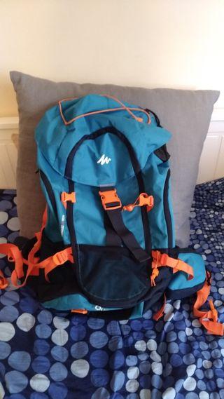 2 mochilas 40 litros decathlon