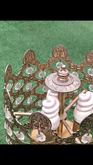 Lámpara de cobre vintage