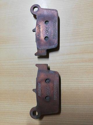 Pastillas de freno Nissin Gas Gas Ec 250 F