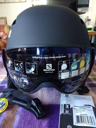 Casco de esquí y Snow board Salomon